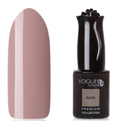 Vogue Nails, Гель-лак Premium Collection А096Vogue Nails<br>Гель-лак (10 мл) светло-кофейный, без перламутра и блесток, плотный.