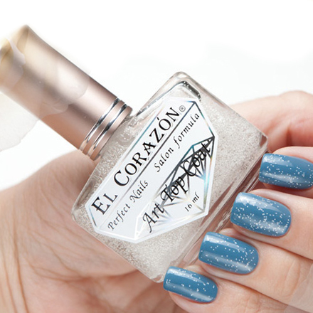 El Corazon Art Top Coat, Snow Happiness № 421/10 (УЦЕНКА)