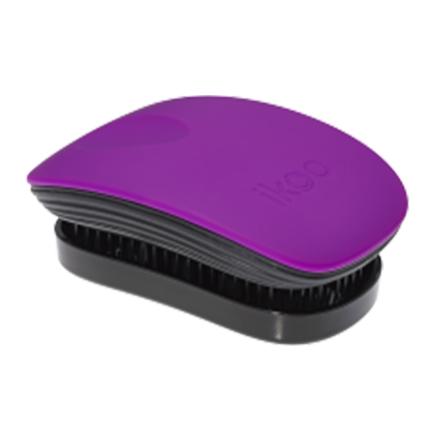 ikoo, Расческа Pocket, Black-suger plum
