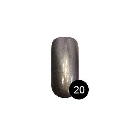 TNL, Втирка «Северное сияние» №20, красная медьВтирка для ногтей<br>Втирка для создания оригинального зеркального маникюра (2 г).<br>