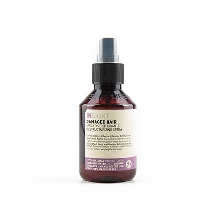 INSIGHT, Спрей Damaged Hair, 100 млСпреи для волос <br>Средство для смягчения и восстановления поврежденных волос.