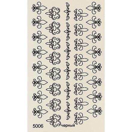 InGarden, Трафареты №3Трафареты для маникюра<br>Трафареты для создания уникального дизайна ногтей.<br>