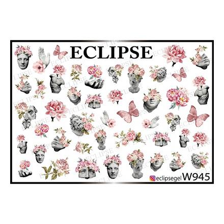 Купить Eclipse, Слайдер-дизайн для ногтей W №945