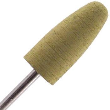 Planet Nails, насадка мягкий полировщик конус закругленный 10мм (9573H.100)Насадки<br>Силиконовая насадка для полировки ногтей.<br>