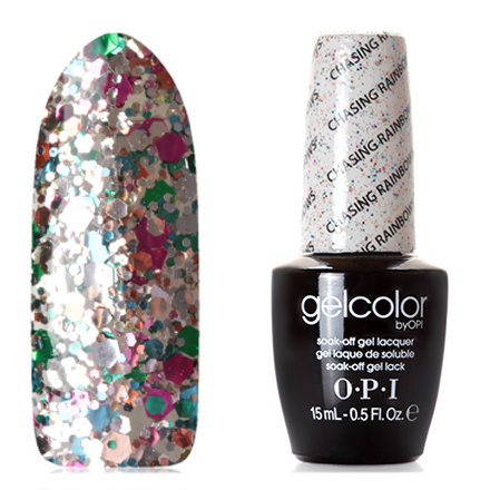 OPI GelColor, Гель-лак Chasing Rainbows opi gelcolor гель лак i sea you wear opi gca73