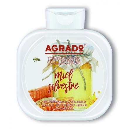 Agrado, Гель для душа «Дикий мёд», 750 мл фото