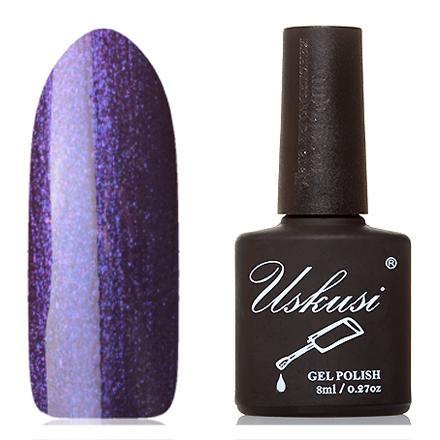 Uskusi, Гель-лак №126Uskusi<br>Гель-лак (8 мл) красно-фиолетовый, с синими и розовыми микроблестками, плотный.<br><br>Цвет: Фиолетовый<br>Объем мл: 8.00