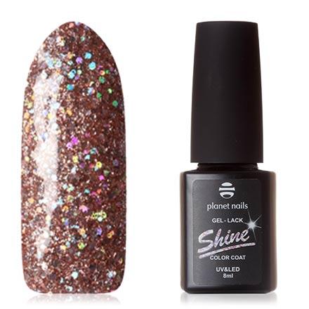 Купить Planet Nails, Гель-лак Shine №873, Розовый