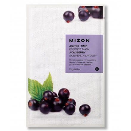 Mizon, Маска для лица Acai Berry, 23 г