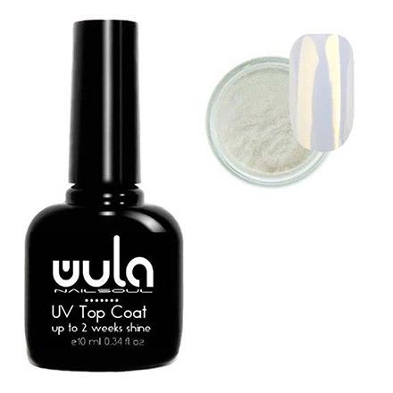 Купить WULA Nailsoul, Набор для дизайна «Топ и жемчужная втирка №02»