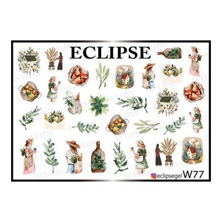 Купить Eclipse, Слайдер-дизайн для ногтей W №77