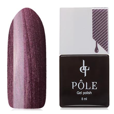 POLE, Гель-лак №183, Коричная пыльцаPOLE<br>Гель-лак (8 мл) приглушенный бордово-фиолетовый, с перламутром, плотный.<br><br>Цвет: Фиолетовый<br>Объем мл: 8.00