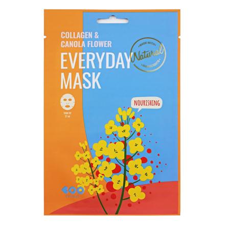 Dearboo, Маска для лица Collagen & Canola Flower, 27 мл