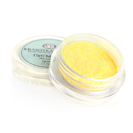 KrasotkaPro, Пигмент Желтый ирис (PR3608)