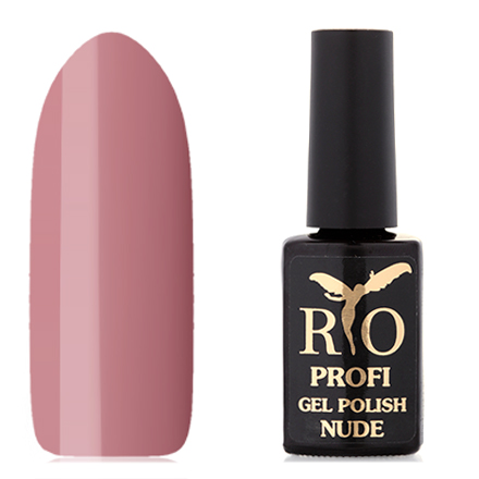 Rio Profi, Гель-лак Nude №5, Сливочный Мокко rio profi гель лак 83 королевский дракон