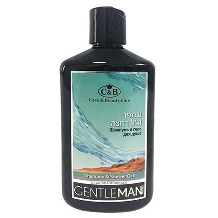 Купить Care & Beauty Line, Мужской шампунь и гель для душа Gentleman, 400 мл