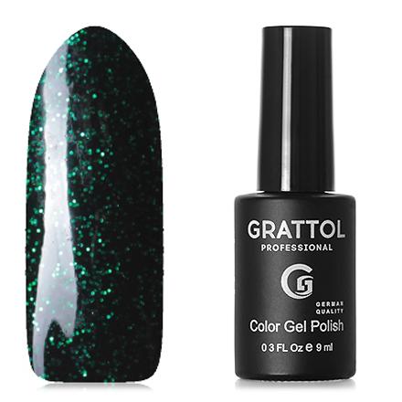 Купить Grattol, Гель-лак Luxury stones, Emerald №02, Зеленый
