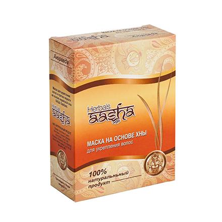Купить Aasha Herbals, Маска на основе хны для волос, 80 г