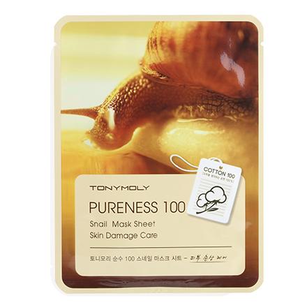 Купить Tony Moly, Маска для лица Pureness 100 Snail, 21 г
