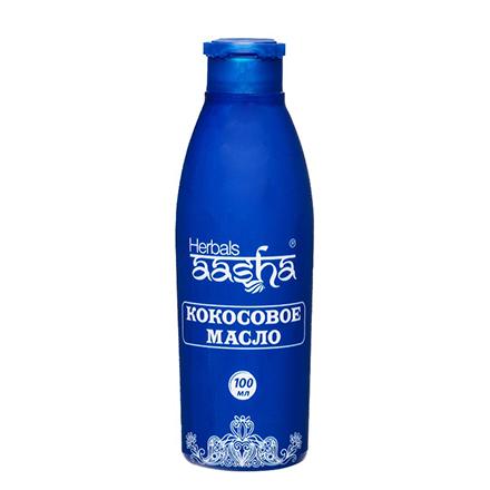 Купить Aasha Herbals, Натуральное кокосовое масло для волос и тела, 100 мл