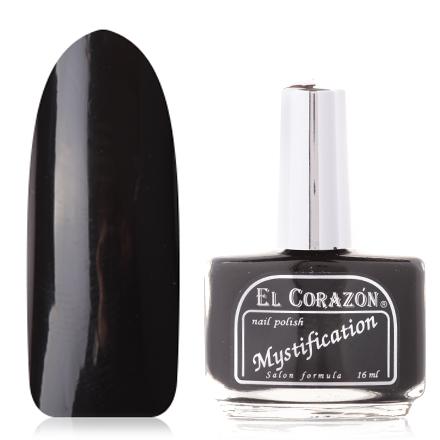 El Corazon Express Effect, № 311 MystificationEl Corazon <br>Лак для ногтей (16 мл) черный, без перламутра и блесток, плотный.<br><br>Цвет: Черный<br>Объем мл: 16.00