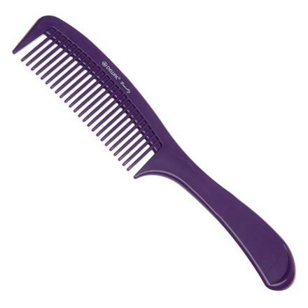 Купить Dewal, Расческа с ручкой, фиолетовая, 22 см