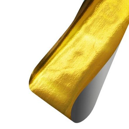 Patrisa nail, Фольга для дизайна (глянцевая золотая), 60 см