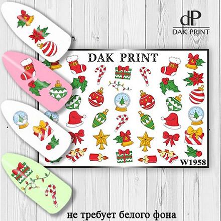 Купить Dak Print, Слайдер-дизайн №1958