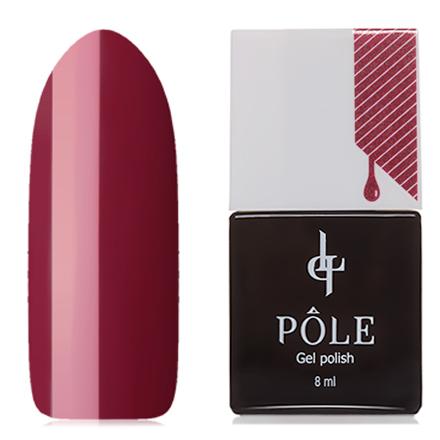 Купить POLE, Гель-лак №284, Карминовый красный, Красный