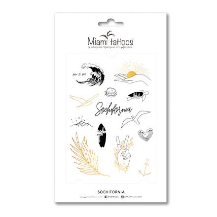 Miami Tattoos, Переводные тату Sochifornia фото