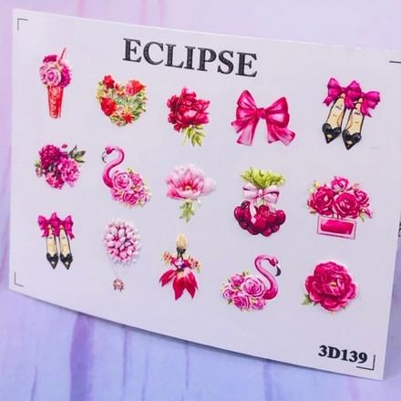 Купить Eclipse, 3D-слайдер для ногтей №139