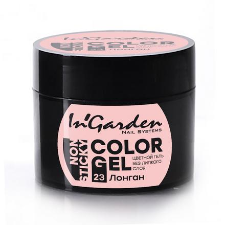 Купить In'Garden, Гель-краска для ногтей №23, Лонган, Розовый