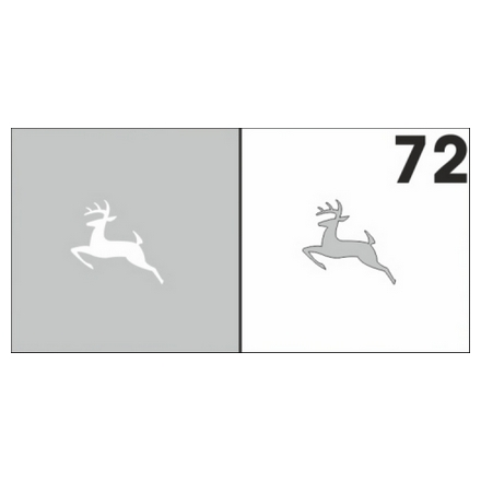 Airnails, Трафареты №72Трафареты для маникюра<br>Набор многоразовых клеевых трафаретов для аэрографии на ногтях из высокоэластичной пленки. В упаковке 6 шт.<br>