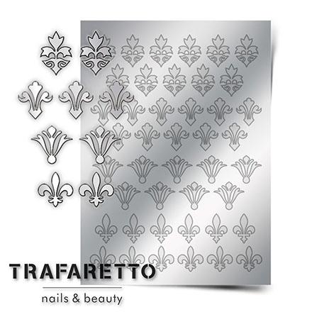 Trafaretto, Металлизированные наклейки PR-02, серебро фото