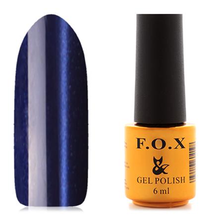 FOX, Гель-лак Cat Eye №081F.O.X<br>Магнитный гель-лак (6 мл) фиолетовый с синим оттенком,с перламутром, плотный.<br><br>Цвет: Фиолетовый<br>Объем мл: 6.00