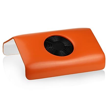 Planet Nails, подставка-пылесос для маникюра, оранжевая