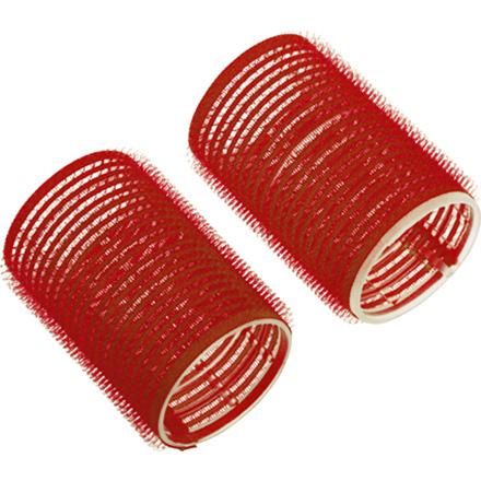 Dewal, Бигуди-липучки, красные, 13 мм  - Купить