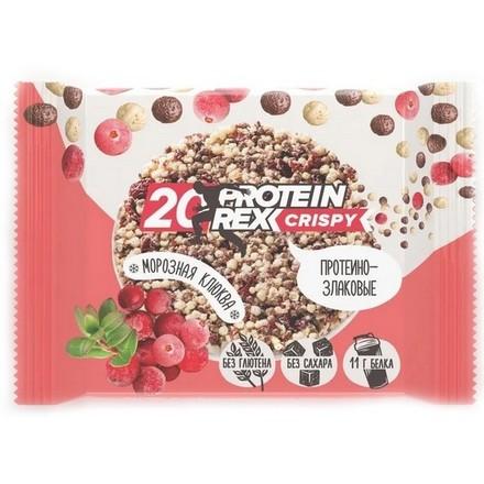 ProteinRex, Протеино-злаковые хлебцы «Морозная клюква», 55 г  - Купить