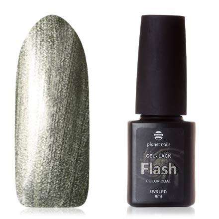 Купить Planet Nails, Гель-лак Flash №750, Зеленый