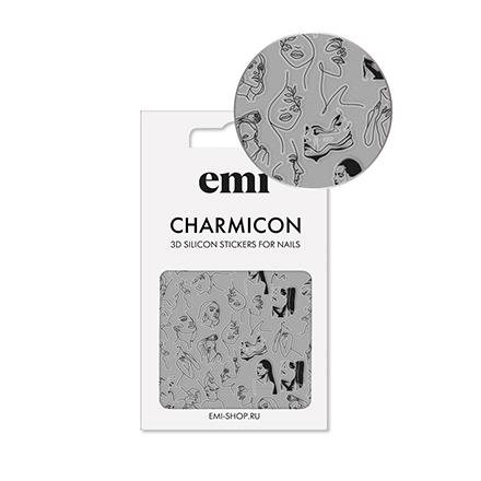 Купить EMI, 3D-стикеры Charmicon №172, Sketch