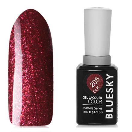 Купить Bluesky, Гель-лак Masters Series «Звездное небо» №205, Красный