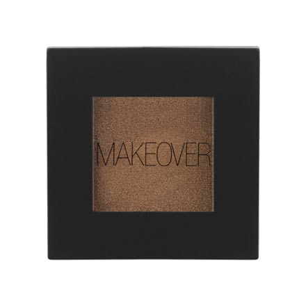 MAKEOVER PARIS, Тени для век Single Eyeshadow, Bronze