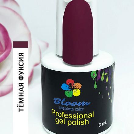 Купить Bloom, Гель-лак «Темная фуксия», Фиолетовый