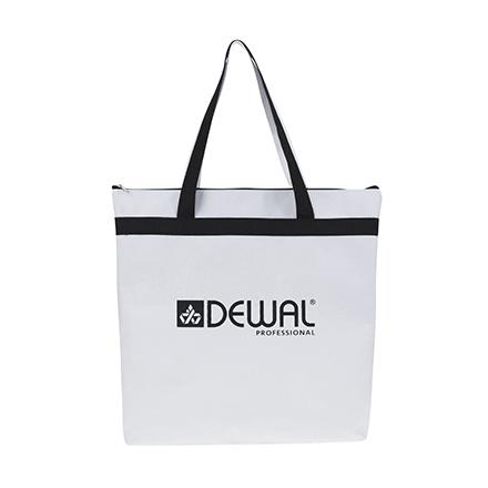 Dewal, Сумка для парикмахерских инструментов, черно-белая, 43х44 см фото
