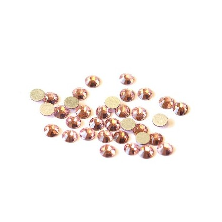TNL, Стразы 4 мм розовые, 50 шт. (TNL Professional)