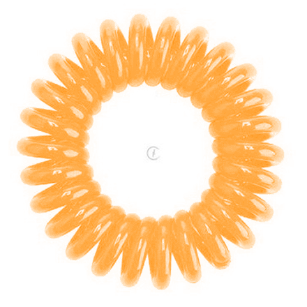 Hair Bobbles HH Simonsen, Резинка для волос, оранжевая (3 шт.)