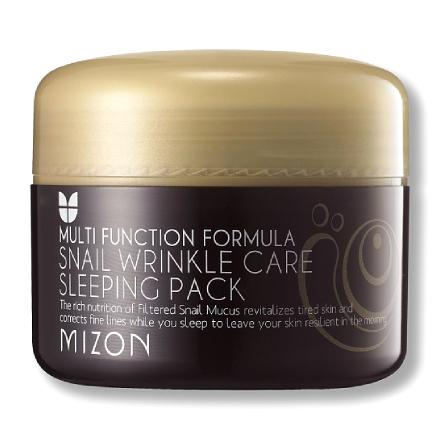 Mizon, Маска для лица Snail Wrinkle Sleeping, 80 мл