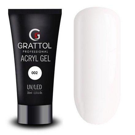 Grattol, Acryl Gel №02, 30 мл