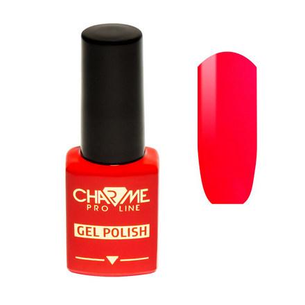 CHARME Pro Line, Гель-лак № 015, Карминово-красный charme pro line гель лак 177 золотой песок