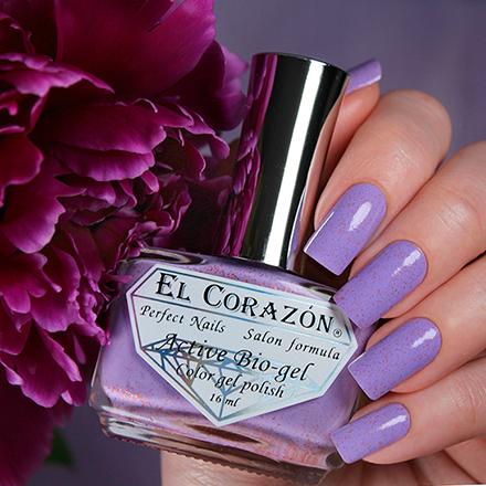 Купить El Corazon, Активный биогель Autumn Dreams №423/1031, Фиолетовый